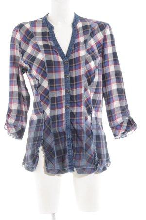 Biba Houthakkershemd geruite print Jeans-look