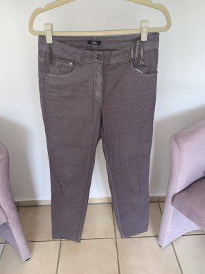 Biba Jeans 7/8 mauve-gris lilas