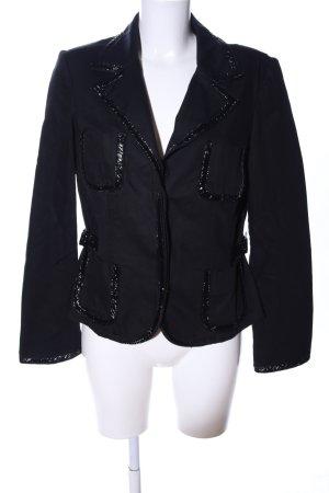 Biba Denim Blazer black casual look