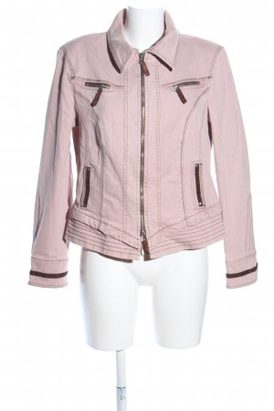 Biba Denim Jacket pink casual look
