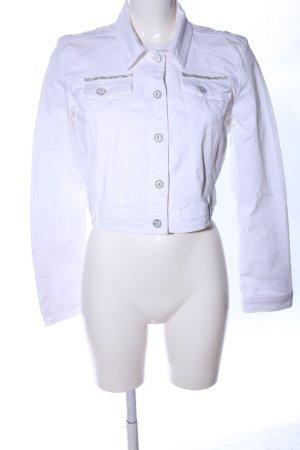 Biba Denim Jacket white casual look