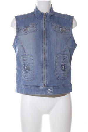 Biba Jeansweste blau Casual-Look