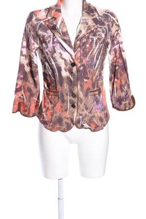 Biba Jerseyblazer abstraktes Muster Casual-Look