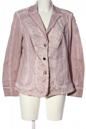 Biba Blazer corto rosa stile casual