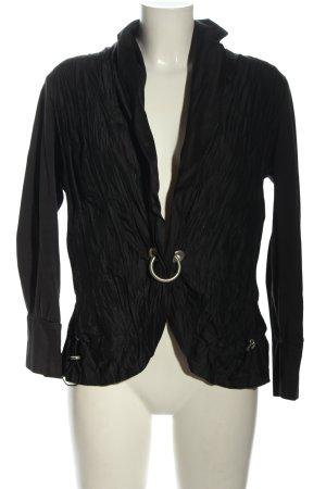 Biba Short Blazer black casual look