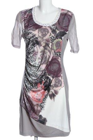 Biba Shortsleeve Dress abstract pattern casual look