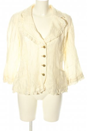 Biba Short Jacket cream casual look