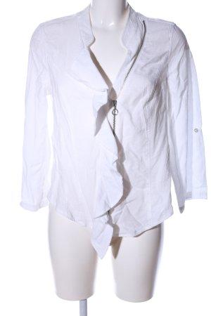 Biba Short Jacket white casual look