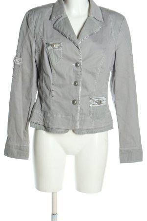 Biba Giacca corta grigio chiaro stile casual