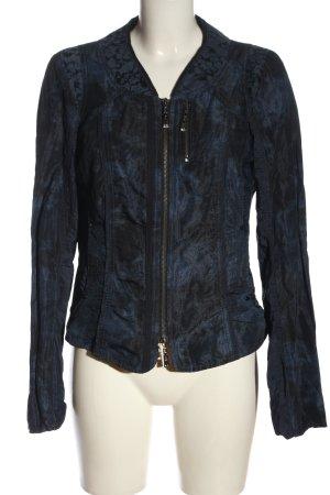 Biba Giacca corta blu-nero stile casual