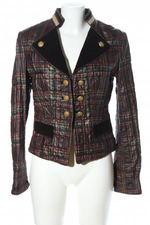 Biba Short Jacket check pattern vintage look