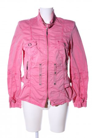 Biba Short Jacket pink casual look