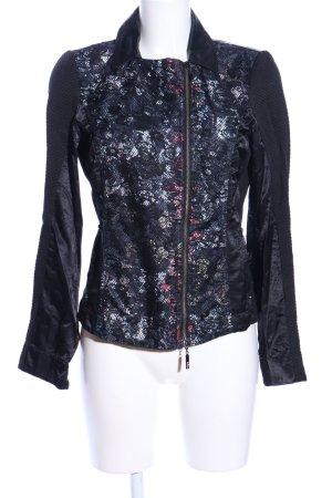 Biba Short Jacket abstract pattern casual look