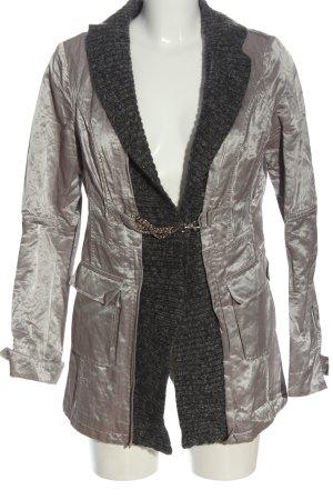 Biba Short Coat black-silver-colored casual look