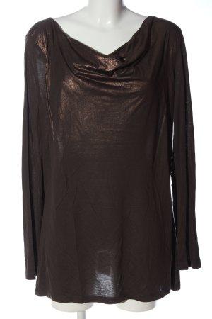 Biba Camicetta a maniche lunghe bronzo elegante