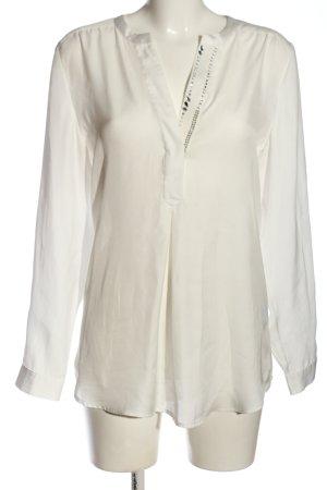 Biba Camicetta a maniche lunghe bianco sporco stile casual