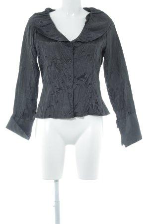 Biba Langarm-Bluse schwarz extravaganter Stil