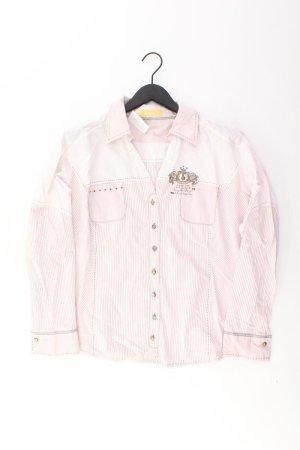 Biba Camicetta a maniche lunghe rosa chiaro-rosa-rosa-fucsia neon Poliestere