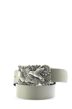 Biba Cintura in ecopelle grigio chiaro stile casual