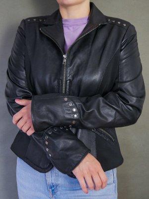 Biba Giacca in pelle nero
