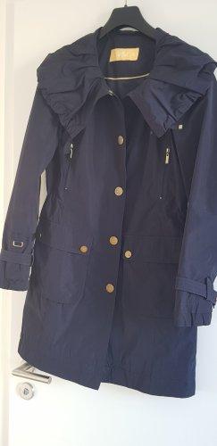 Biba Coat gold-colored-dark blue