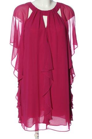 Biba Chiffonkleid pink Elegant