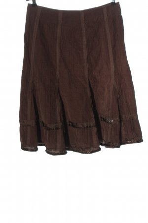 Biba Flared Skirt brown casual look
