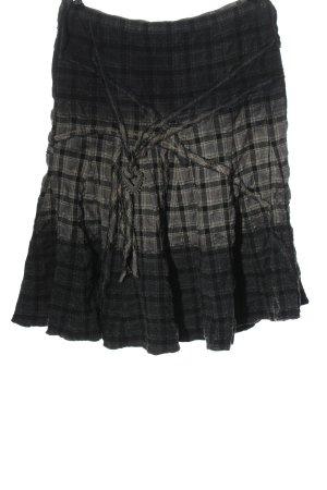Biba Jupe taille haute motif à carreaux style décontracté