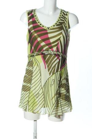 Biba Mini Dress abstract pattern casual look