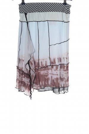 Biba Midi Skirt allover print casual look