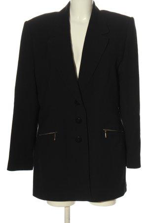 BIBA pariscop Klassischer Blazer czarny W stylu biznesowym