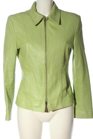BIBA pariscop Skórzana kurtka zielony W stylu casual