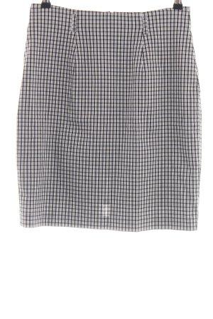 BIBA pariscop Spódnica mini czarny-biały Na całej powierzchni