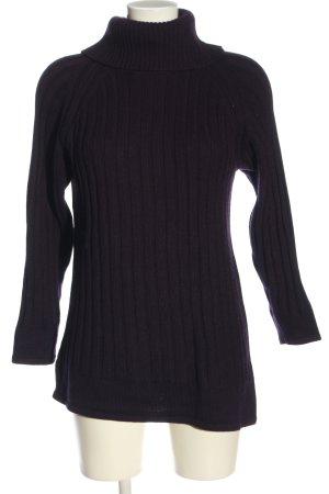 BIBA pariscop Sweter z golfem czarny W stylu casual