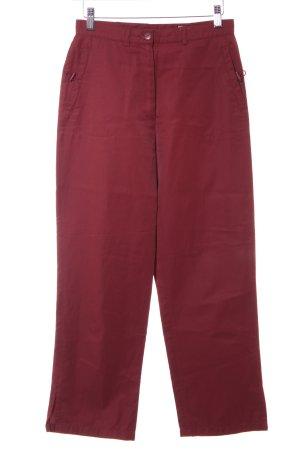 BIBA pariscop Spodnie materiałowe bordo W stylu casual