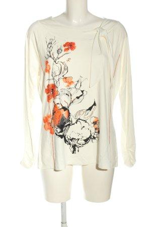 Biba Print Shirt flower pattern casual look