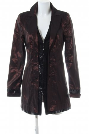 Biba Heavy Raincoat bronze-colored-black casual look