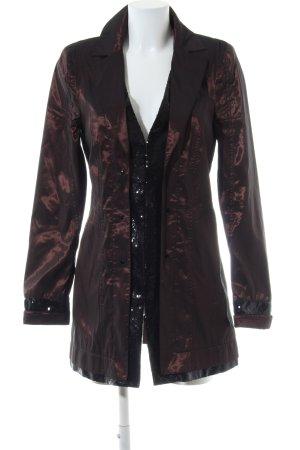 Biba Manteau de pluie bronze-noir style décontracté
