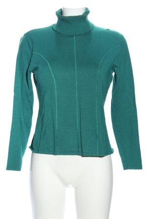 Biba Turtleneck Sweater green casual look