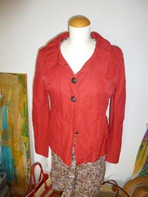 Biba Rote Jacke Gr. 34 /36 Gr.S