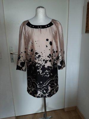 Biba Zijden blouse veelkleurig