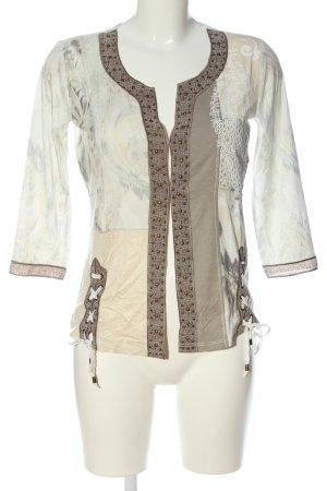 Biba Veste chemise motif abstrait style décontracté