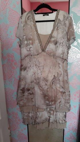 Biba Summer Dress grey brown-beige