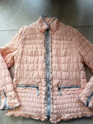 Biba Quilted Jacket light grey-apricot