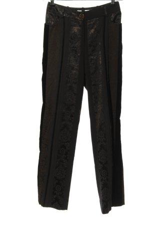 Biba Pantalone jersey grigio chiaro motivo astratto stile da moda di strada