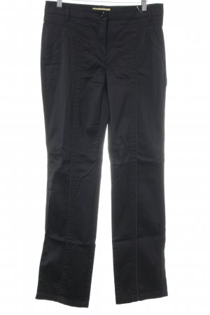 Biba Pantalon en jersey noir style décontracté