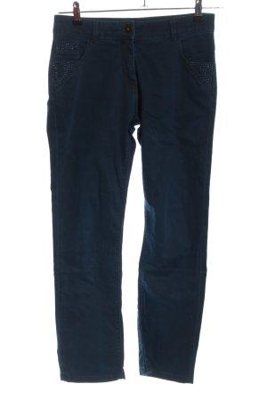 Biba Jeansy z prostymi nogawkami niebieski W stylu casual