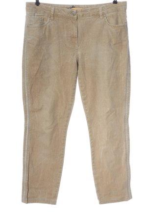 Biba Jeansy z prostymi nogawkami kremowy W stylu casual