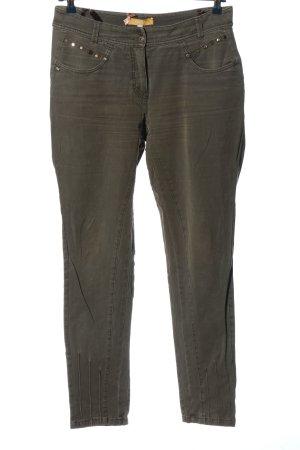 Biba Jeansy z prostymi nogawkami jasnoszary W stylu casual