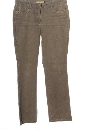Biba Jeansy z prostymi nogawkami brązowy W stylu casual